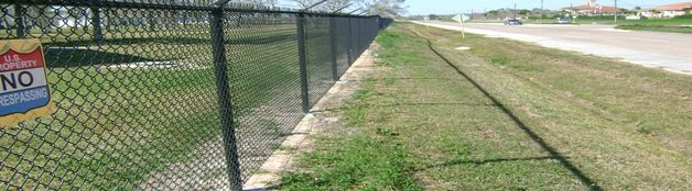Weed Control On Fence Lines